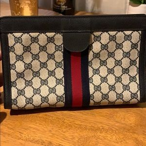 Gucci Monogram Clutch